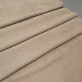 Ткань микровелюр Даймонд беж-золото 1403-200