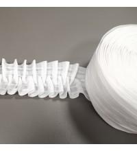 Тесьма для штор матовая вафелька 60 мм