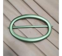 Заколка для штор Овал зеленый