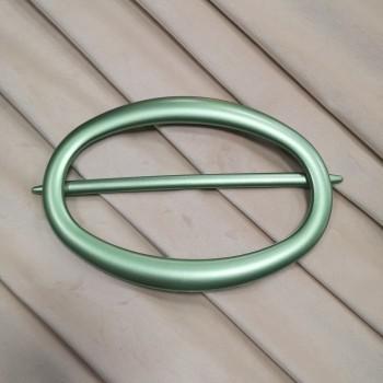 Заколка для штор Овал зеленый 7510-4