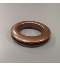 Люверсы для штор коричневый 35 мм