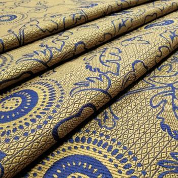 Ткань гобелен Нейя синий 171541