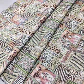 Ткань гобелен Зоопарк 242821