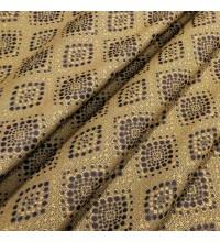 Ткань гобелен Сувенир коричневый