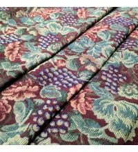 Ткань гобелен Бальзамин бордовый