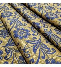 Ткань гобелен Манила синий