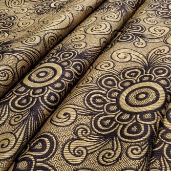 Ткань гобелен Чизана коричневый 751541