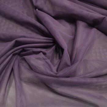 Тюль Сетка Грек фиолетовый