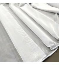 Тюль вуаль-шелк Neo белый с утяжелителем