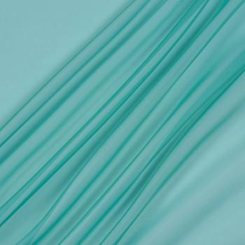 Тюль вуаль бирюза